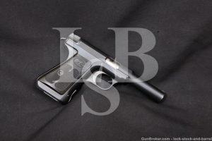 Savage 1917-20 Modification No. 2 .380 ACP Semi-Auto Pistol, 1921-28 C&R