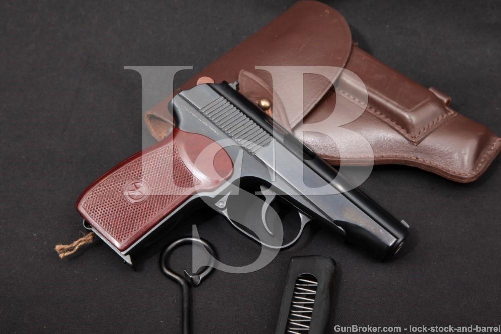 Soviet Russian Makarov PM 9x18mm Semi-Auto Pistol & Holster, 1970 ATF C&R