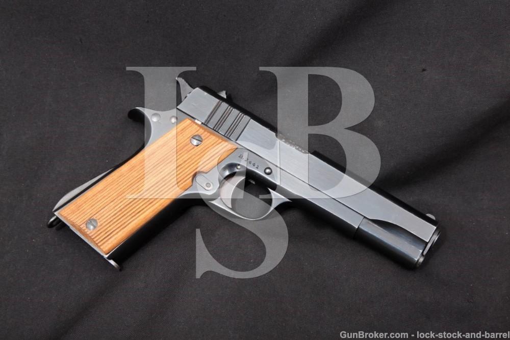 WWII British SOE HAFDASA Argentine Ballester-Molina 45 ACP, 1942-1944 C&R