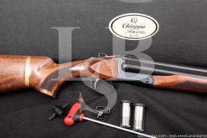 "Chiappa Triple Threat 18 1/2"" 12 GA 3"" Magnum Three-Barrel Shotgun, 2013-15"