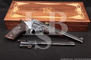 Custom Smith & Wesson 3rd Model Perfected Target Pistol .22 LR & .38 S&W Two Barrel Set, C&R