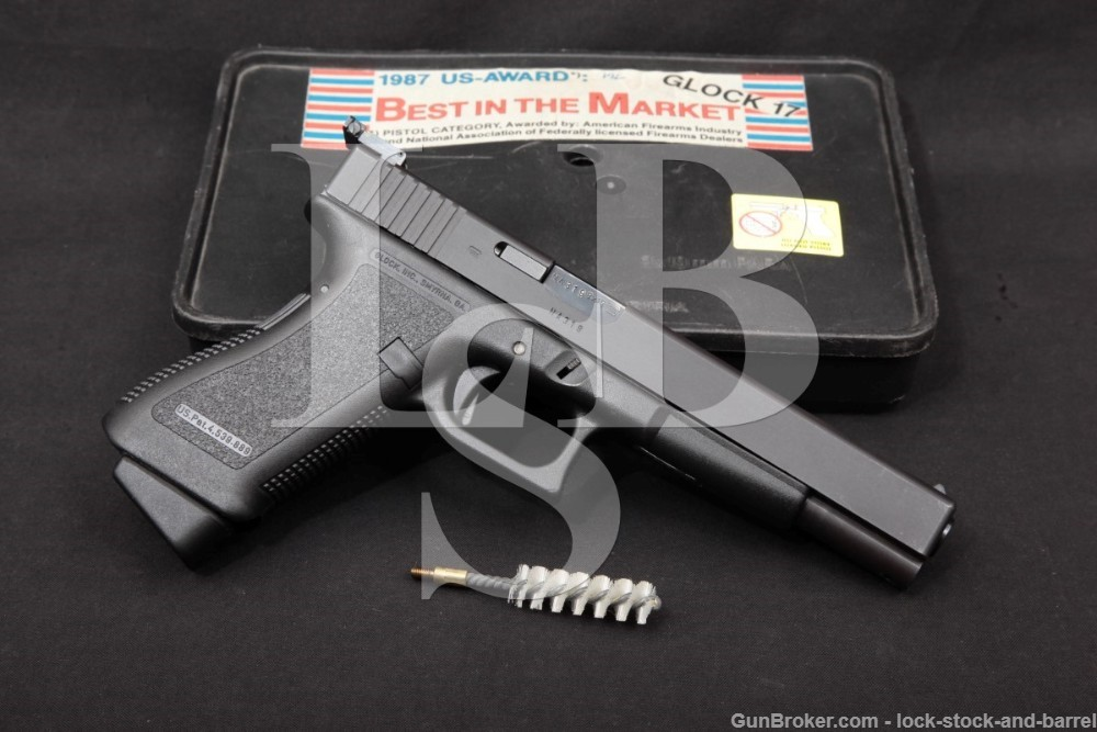 "Glock Model 17L Gen 2 G17L 9mm 6.02"" Striker Fired Semi-Automatic Pistol"