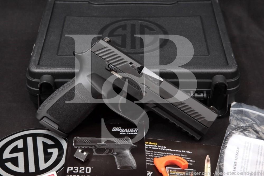 Sig Sauer Model P320 P-320 9mm 4.7 INCH Nitron Striker Fired Semi-Auto Pistol