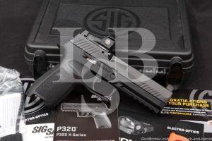 "Sig Sauer Model P320 RX P-320 9mm 4.7"" Striker Fired Semi-Auto Pistol, MFD 2018"