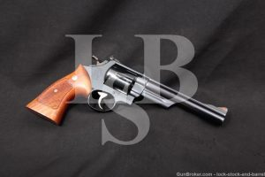 Smith & Wesson S&W Model 29-2 6.5 INCH Pinned & Recessed .44 Mag Revolver, MFD 1973