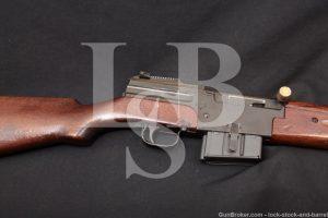 WWII French MAS MLE 1944 7.5x54 Rare Military Semi-Automatic Rifle, MFD 1945 C&R