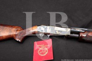 Wayne Newton's Gino Cargnell & Angelo Bee Engraved Remington Model 31, MFD 1947 C&R