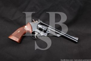 1st Year Smith &Wesson S&W 53 No Dash .22 Remington Jet Revolver, 1961 C&R
