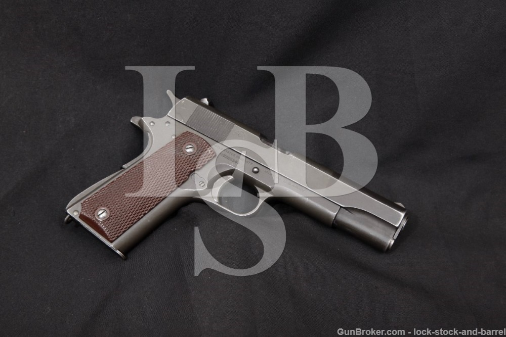 Argentine Navy Marked Colt 1911A1 1911-A1 .45 ACP Semi-Auto Pistol 1945 C&R