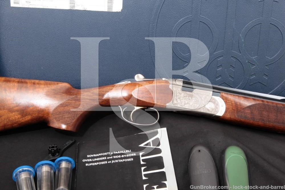 "Beretta 687 Silver Pigeon III J6871J8 28"" 20 GA O/U Over Under Shotgun 2006"