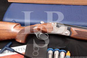 Beretta 691 Sporting Vittoria J691H10V 12 GA O/U Over Under Shotgun, 2018