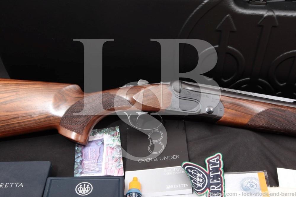 "Beretta DT11 DT-11 Black Sporting JDT1P12B 32"" Carbon Fiber Rib 12 GA, 2010 O/U Over Under Shotgun B-Fast Weights, Case & More"