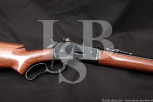 Browning Model 71 Carbine Like 1886 348 Winchester Lever Action Rifle, 1987