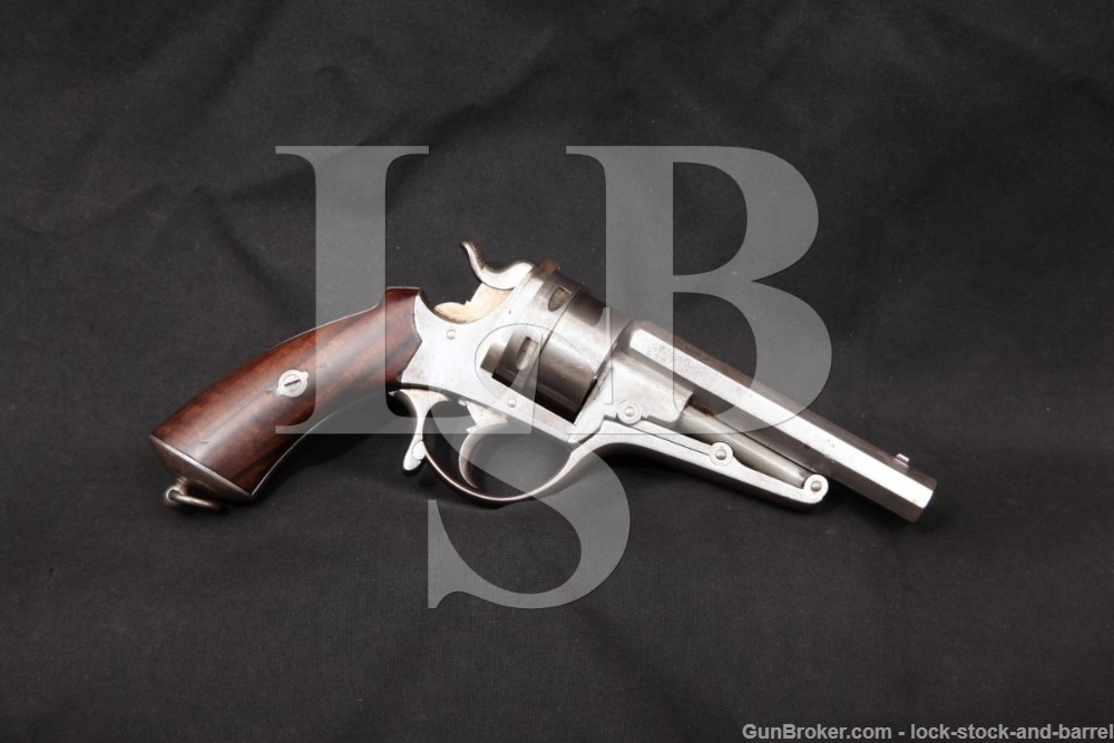 Charles-Francois Galand 1868 M1868 11mm/12mm Revolver, MFD 1868-70 Antique