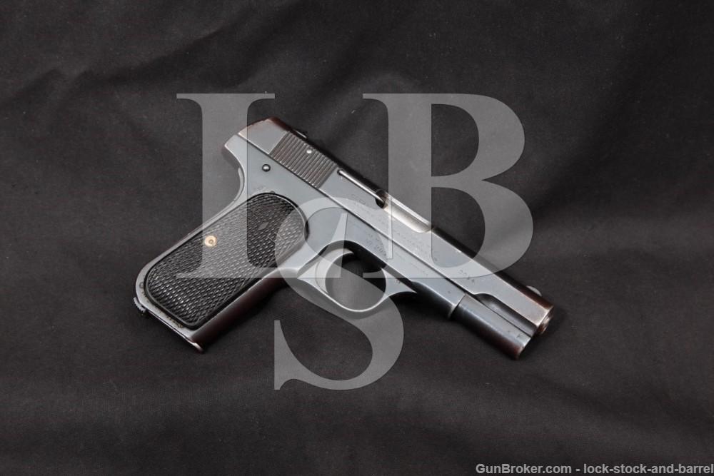 Colt 1908 Shanghai Municipal Police .380 ACP Semi-Auto Pistol, MFD 1931 C&R