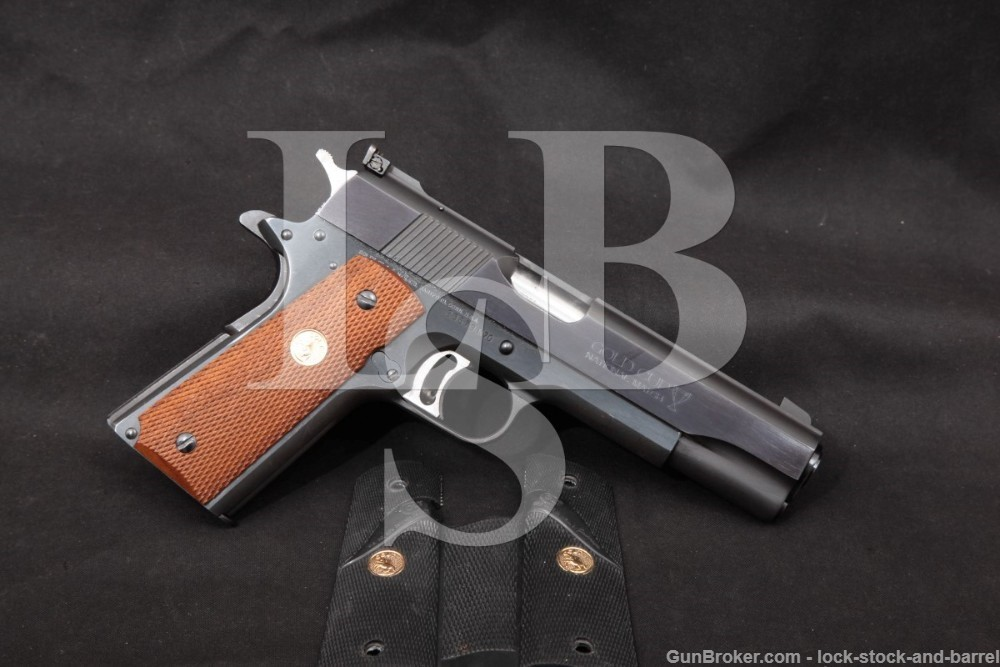 Colt Series '70 MK IV Gold Cup National Match 1911 .45 ACP Semi-Auto, C&R