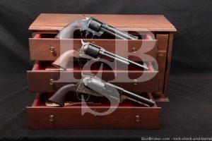 Colt USA American Bicentennial Set Dragoon SAA Python & Case, 1976 ATF C&R