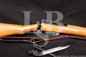 Enfield No.4 Mk 2 No4 Mk2 .303 British Matching Bolt Rifle Bayonet C&R