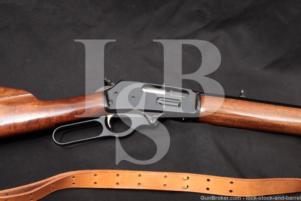 "First Year Marlin Model 444 .444 24"" Blue Lever Action Rifle MFD 1965 C&R"