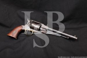 First Year! Remington 1858 New Model Army .44 Cal Civil War Revolver 1863
