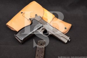 French MAC Model 1950 M1950 9mm Semi-Auto MIlitary Pistol, MFD 1953-60 C&R