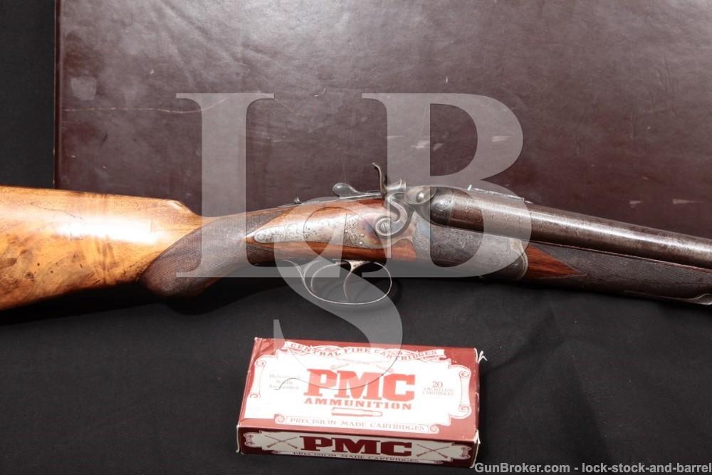 French St. Etienne Drilling 12 GA .40-65 Winchester Combination Gun, C&R