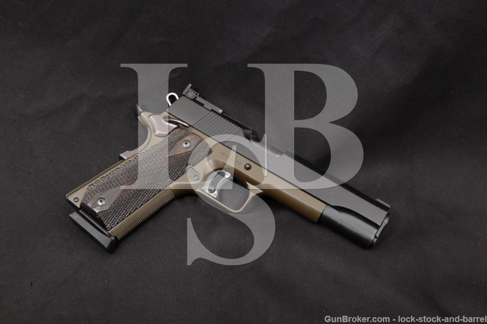 Jim Hoag Custom Colt Gold Cup National Match 1911 .45 ACP Semi-Auto, 1974
