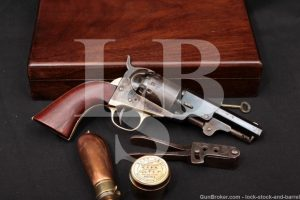 Manhattan Fire Arms .36 Caliber Navy Revolver Series V, 1867-1868 Antique British Marked 6-Shot Percussion Cap & Ball Newark