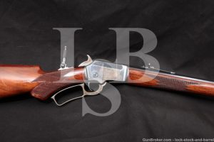 """Marlin 1891 2nd Variation .32 CF 28"""" Blue Lever Action Rifle 1892 Antique"""