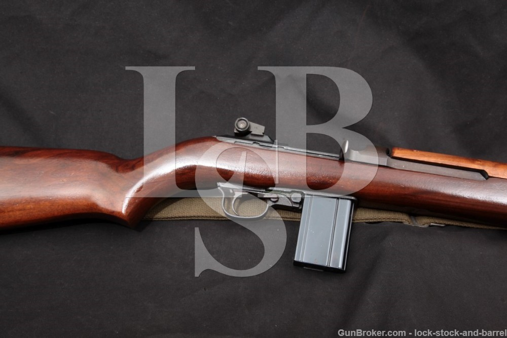 National Ordnance M1 Carbine .30 Cal Semi Automatic Rifle 1965-69 C&R