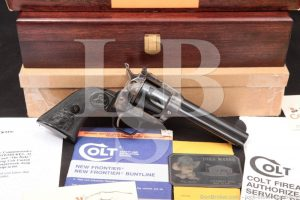 Patrick John Wayne's The Duke Commemorative Colt New Frontier Revolver, C&R