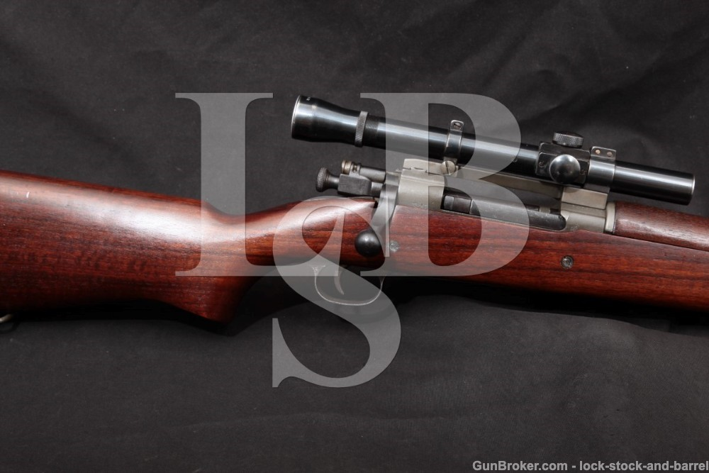 Remington Fed Ord 1903-A4 03A3 Sniper .30-06 Bolt Action Rifle 1943 C&R
