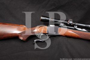 "Ruger No. 1 Number One .45-70 Govt 22"" Single Shot Falling Block Rifle 1978"
