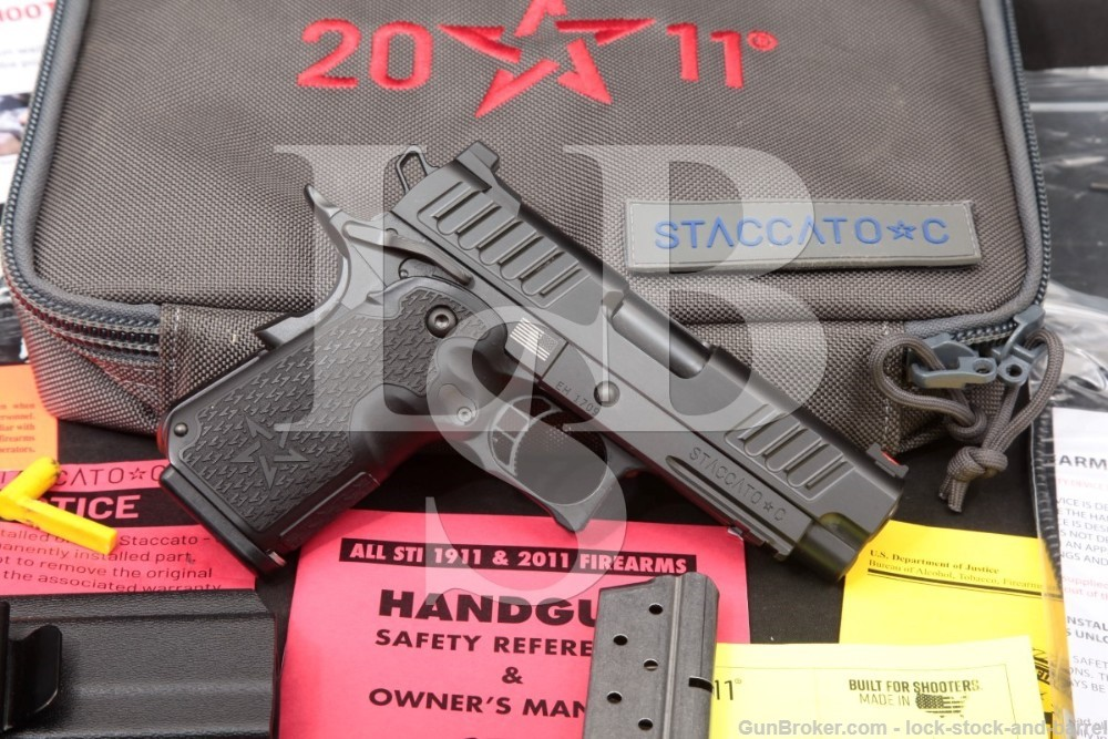 STI International Model Staccato-C 9mm 3.9″ 1911 2011 Semi-Auto Pistol