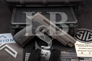 """Sig Sauer Model P226 Legion 9mm 4.4"""" Grey PVD DA/SA Semi-Auto Pistol 2016"""