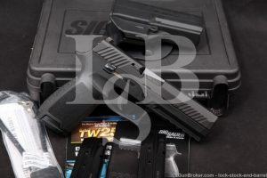 "Sig Sauer Model P320 P-320 9mm 4.7"" Nitron Striker Fired Semi-Auto Pistol"