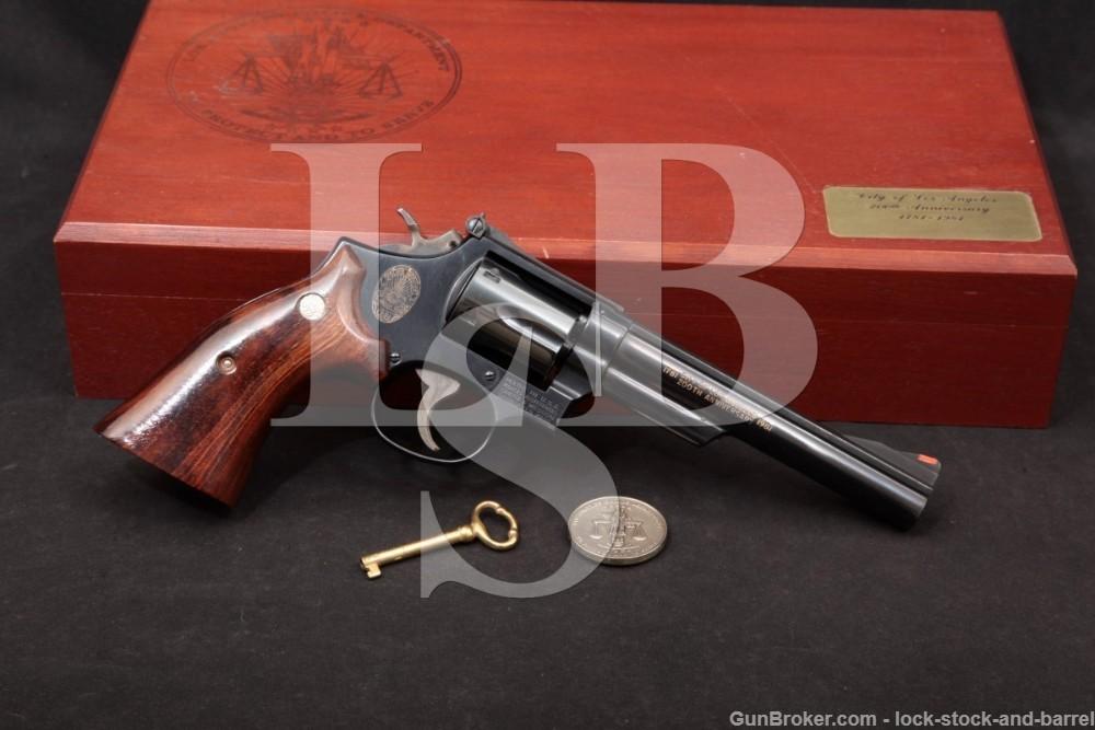 Smith & Wesson S&W 19-4 Los Angeles Bi-Centennial 357 Mag Revolver 1980 C&R