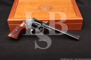 "Smith & Wesson S&W Model 53-2 8 3/8"" 22 Remington Jet .22 LR Revolver, 1973"
