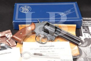 Smith & Wesson S&W Model 581 No Dash .357 Magnum Revolver, 1980 First Year!