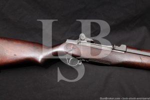 Springfield M1 Garand Navy Mk2 Mod 0 7.62x51 Semi Automatic Rifle 1944 C&R