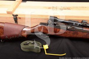 Springfield M1D Garand Sniper Miltech .30-06 M84 Scope Semi Auto Rifle C&R