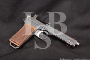 Steyr-Hahn M-1912 9mm Luger Converted Austrian Semi-Auto Pistol, 1917 C&R
