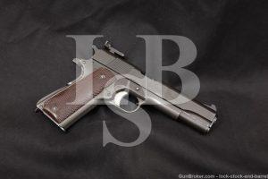 USGI Springfield Armory National Match Colt Slide Remington Rand Frame, C&R