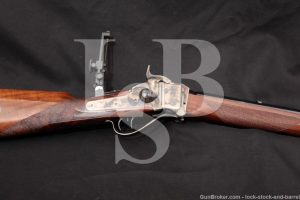 Uberti Model 1874 Sharps Down Under .45-70 Gov't Single Shot Rifle, 2015