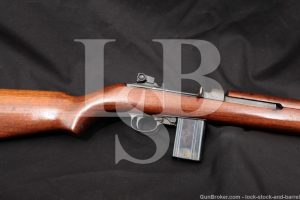WWII Underwood M1 M-1 Carbine .30 Cal Semi Automatic Rifle, MFD 1943 C&R