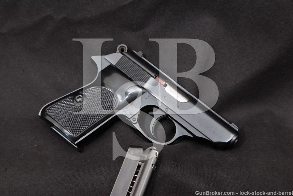 West German Walther PPK/S .22 LR 3.25″ Double Action DA/SA Semi-Auto Pistol