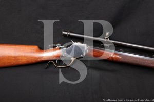 "Winchester 1885 High-Wall 30"" .32-40 Single Shot Rifle A5 Scope 1913-20 C&R"