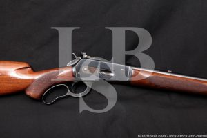Winchester 71 Deluxe Like 1886 .348 WCF Lever Action Rifle, MFD 1937 C&R