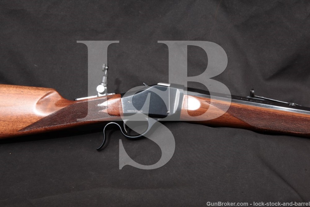 """Winchester Model 1885 Limited Series 28"""" .38-55 WCF Single Shot Rifle, 2005"""