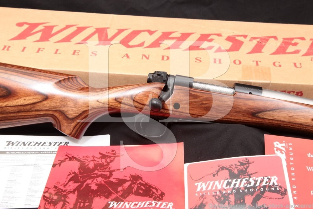 Winchester Model 70 Coyote Stainless Laminated .223 WSSM Bolt Rifle 2000-06